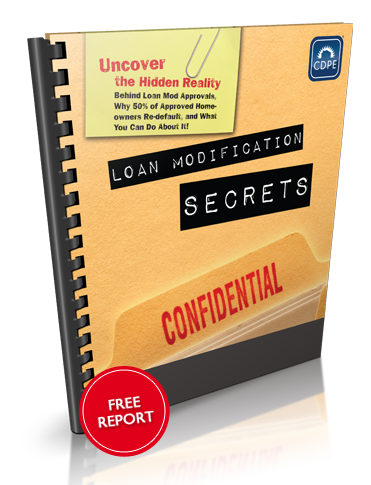 Free Special Report: Loan Modification Secrets