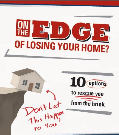 Free Special Report: On The Edge Of Losing Your Home? 10 Options To Rescue You From The Brink!